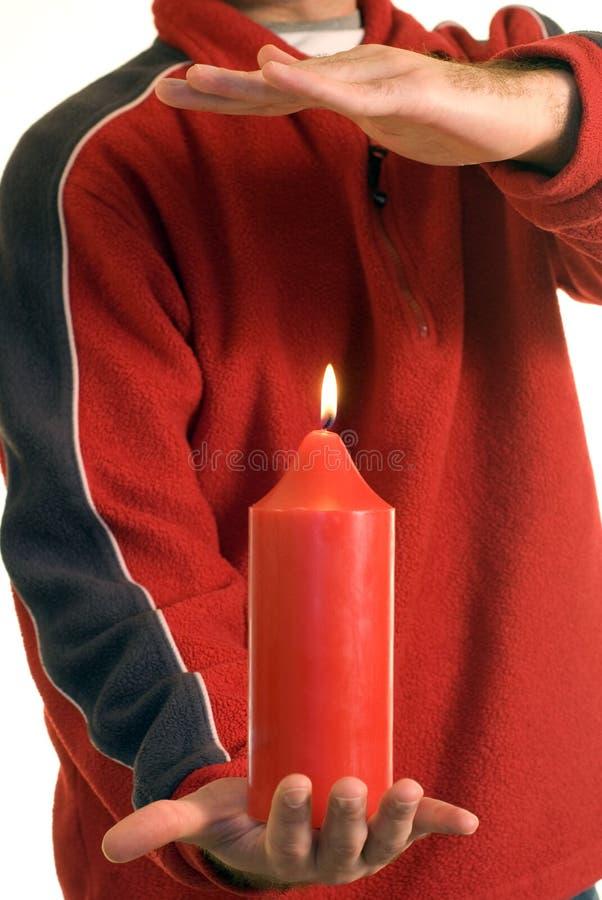 Download жара стоковое изображение. изображение насчитывающей свечка - 6866349