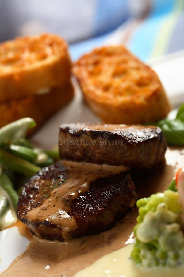 жаркое говядины вкусное стоковая фотография rf