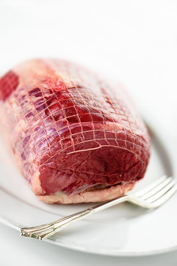 жаркое говядины сырцовое стоковое фото