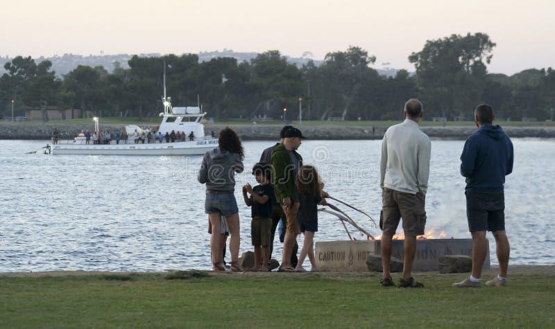 Жаркое зефира, парк пункта захода солнца, залив полета стоковое фото