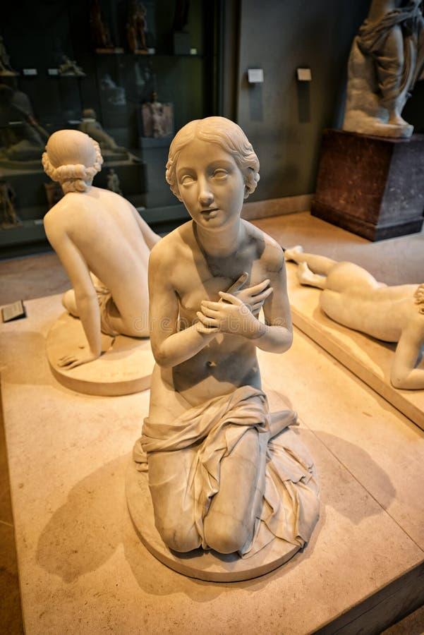 Жалюзи музея, Париж стоковые изображения