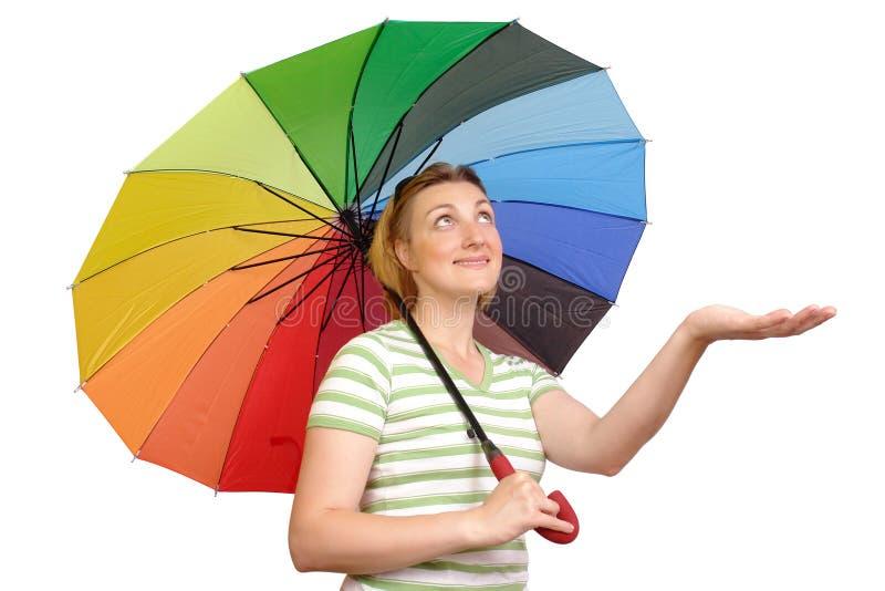 ждать дождя стоковые изображения rf