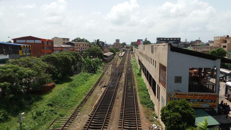 Железная дорога ехала стоковые фото