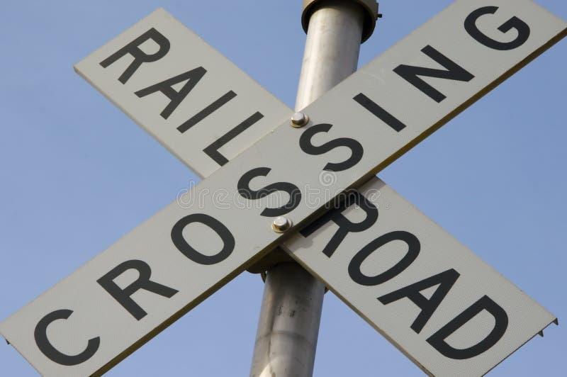 Download железная дорога скрещивания Стоковое Фото - изображение: 600510