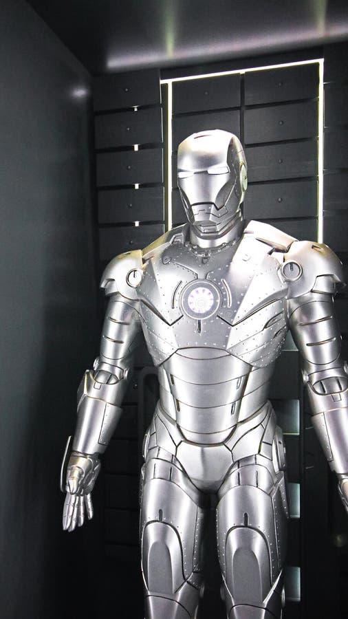 Железная модель Марк 2 человека стоковое изображение rf