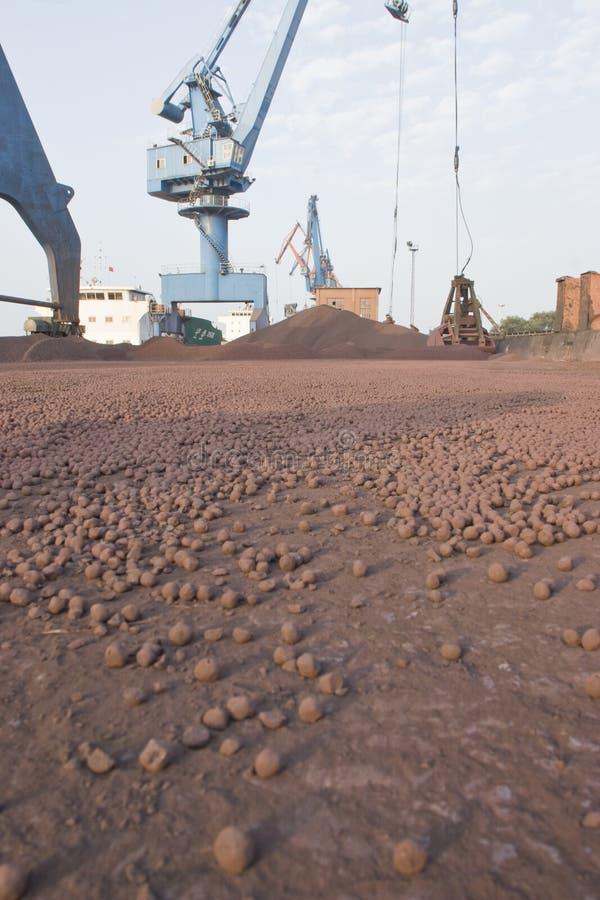 железная руд руда стоковые изображения rf