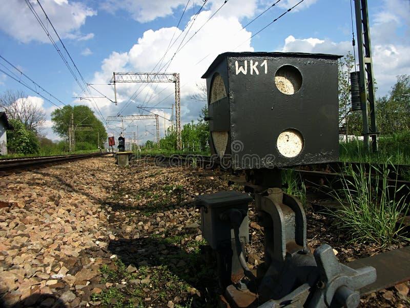 железнодорожная система стоковые изображения
