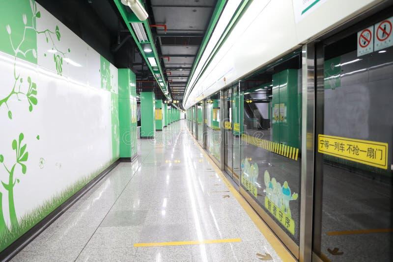 Железнодорожный вокзал метро стоковые фото