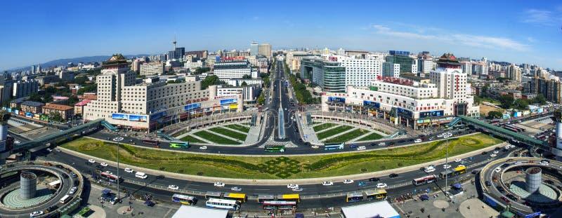 Железнодорожный вокзал Пекина западный сада стоковое фото rf