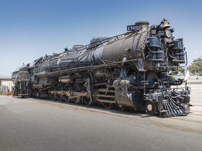 Железнодорожный локомотив пара 9000 1926 гиганта 4-12-2 стоковая фотография