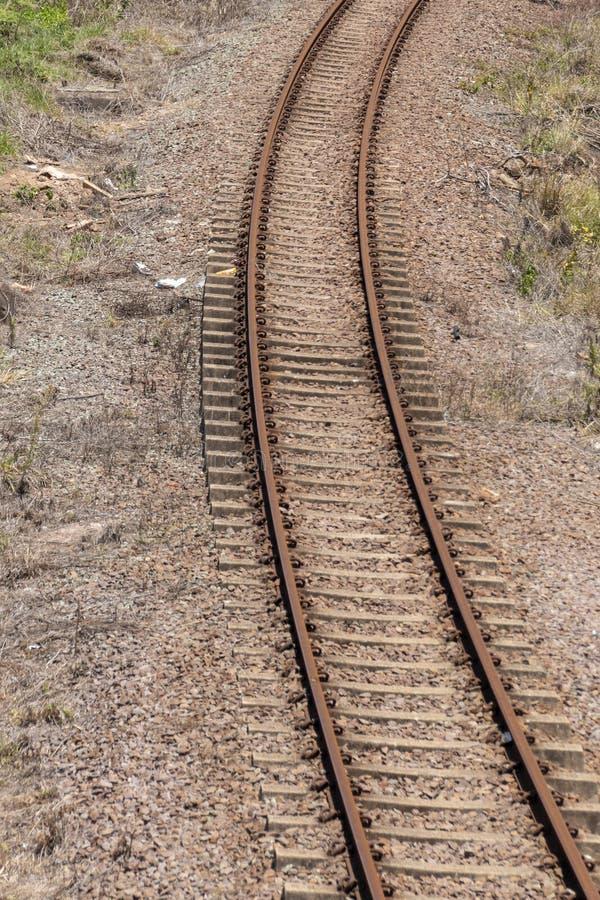 Железнодорожный путь стоковые изображения
