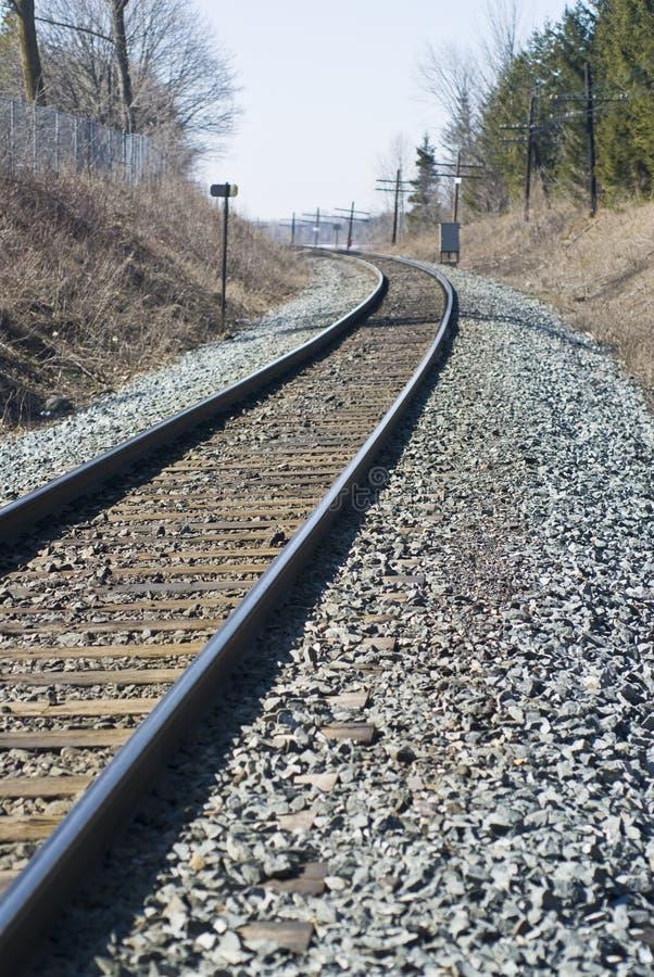 железнодорожный след стоковая фотография rf