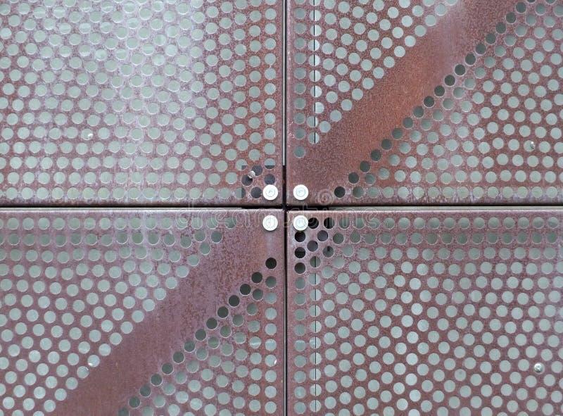 Железное плакирование плиты металлического листа стоковое фото