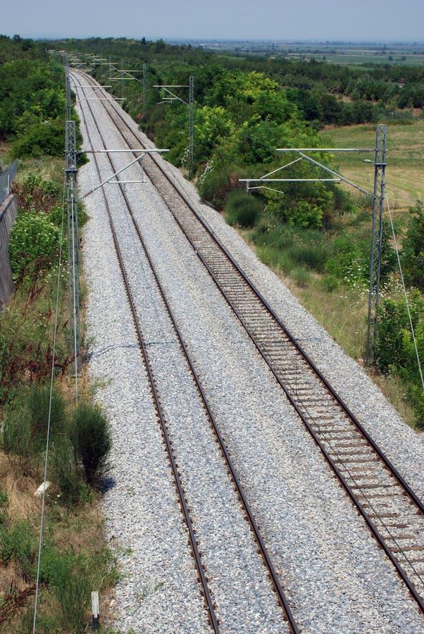 железные дороги стоковое изображение
