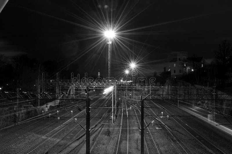 железные дороги стоковая фотография