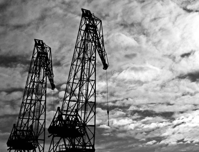 Железные Giants стоковое фото