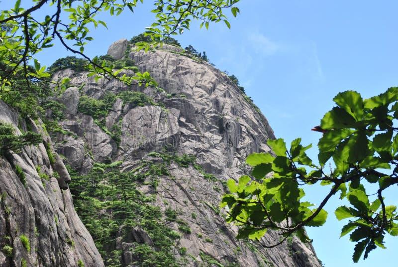 Желтая гора в Аньхое, Китае стоковые изображения