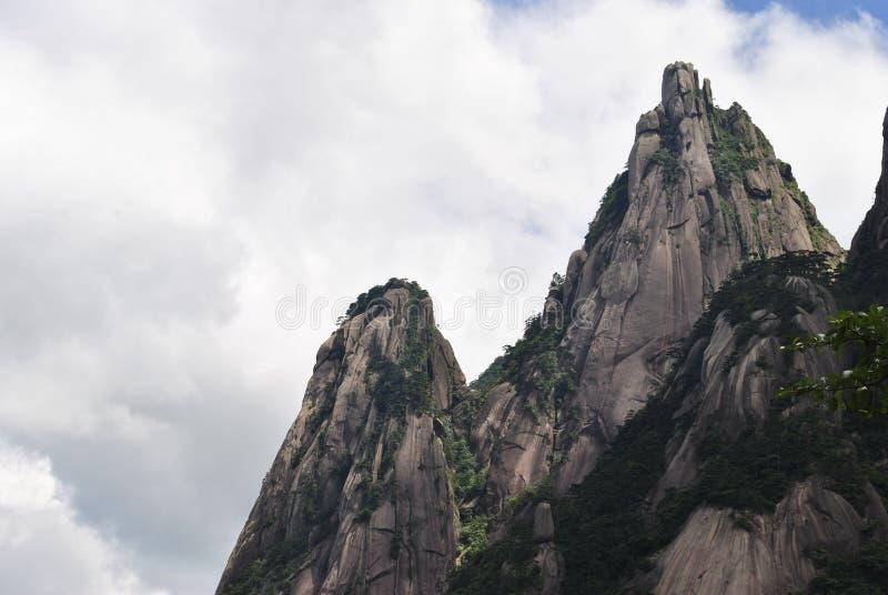 Желтая гора в Аньхое, Китае стоковые фото