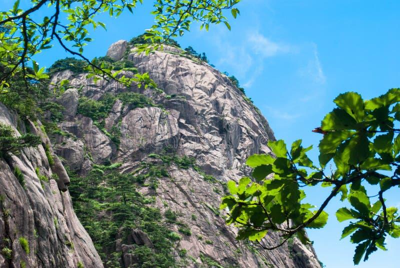 Желтая гора в Аньхое, Китае стоковое фото rf