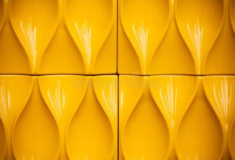 Желтая пластичная конструкция стоковые фотографии rf