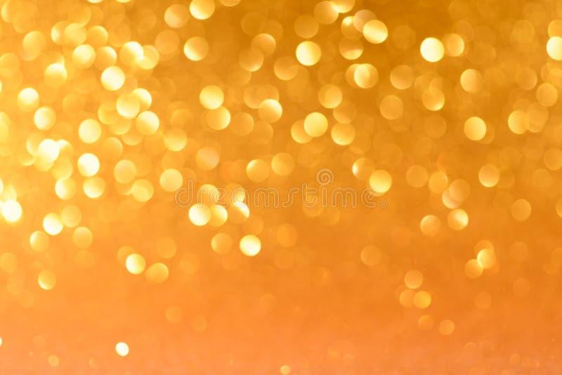 Желтая предпосылка рождества или Нового Года иллюстрация вектора