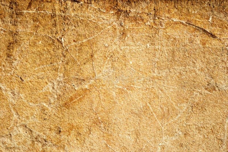 Желтая текстура стены известняка песчаника стоковые изображения