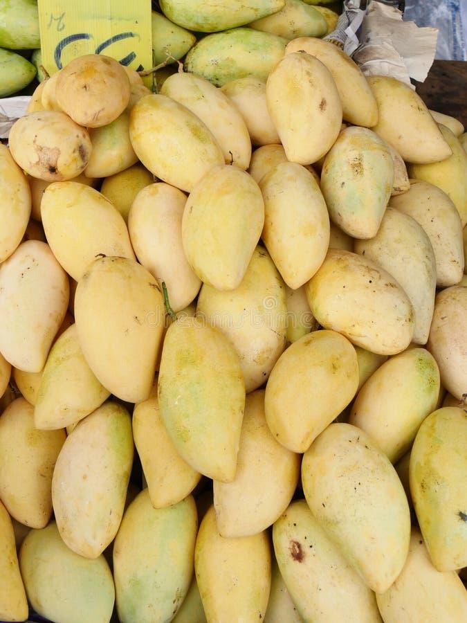 Желтые мангоы стоковое изображение