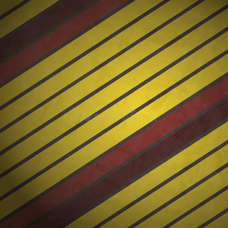 Желтые нашивки иллюстрация вектора