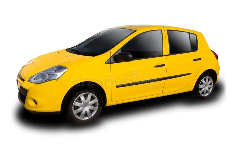Желтый автомобиль стоковое фото rf