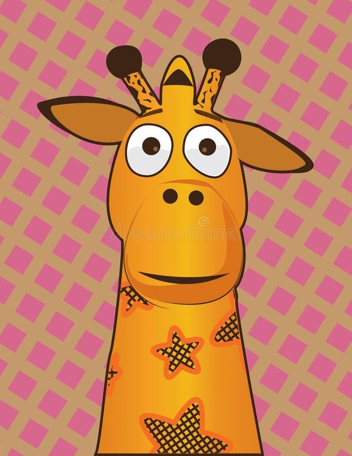 Желтый жираф Galore стоковые фотографии rf