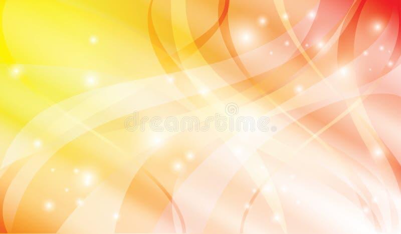 желтый цвет абстрактной предпосылки яркий красный бесплатная иллюстрация
