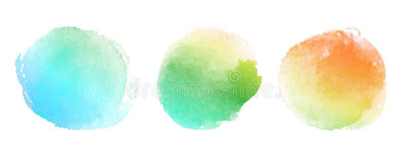 желтый цвет акварели стародедовской предпосылки темный бумажный иллюстрация штока