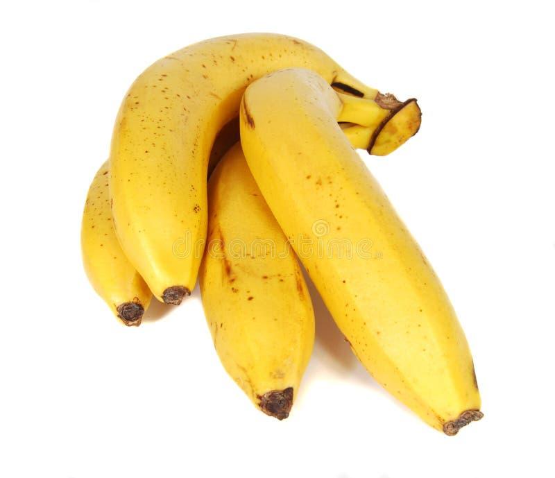желтый цвет бананов стоковое изображение
