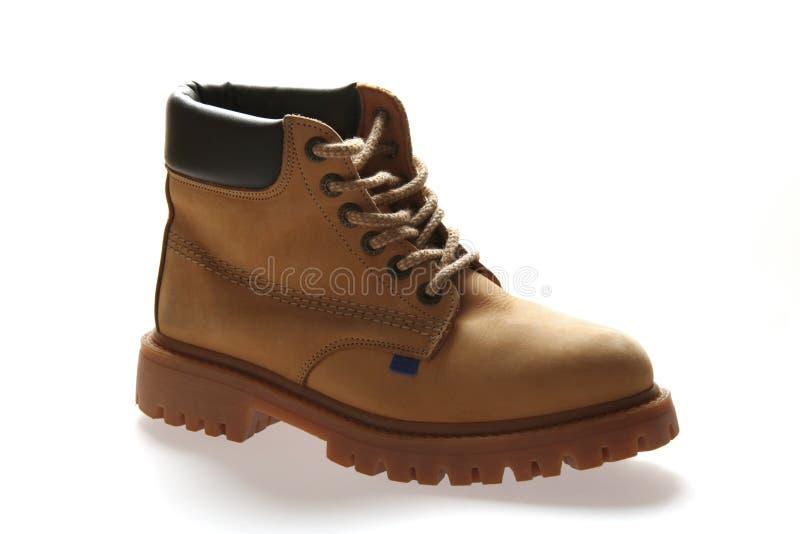 желтый цвет ботинка стоковое фото