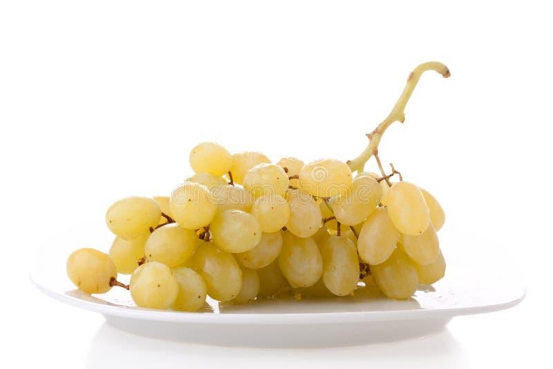 желтый цвет виноградин стоковые изображения