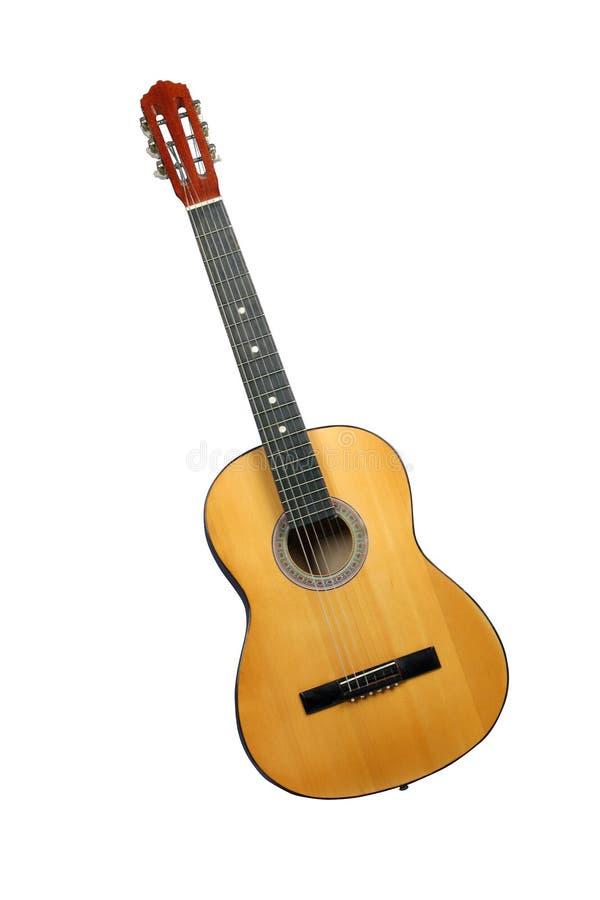 желтый цвет гитары стоковые изображения