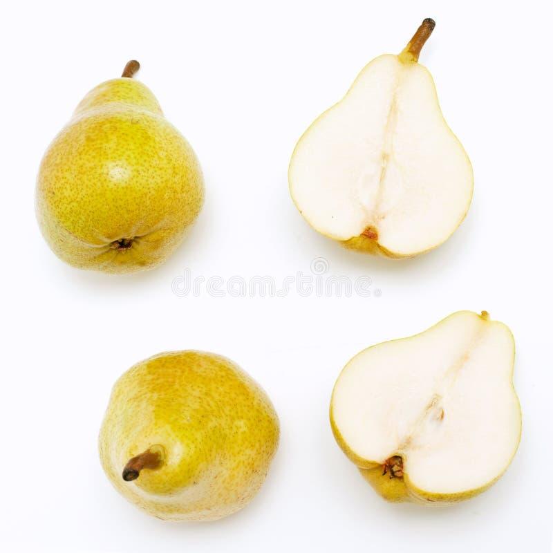 желтый цвет груш стоковая фотография