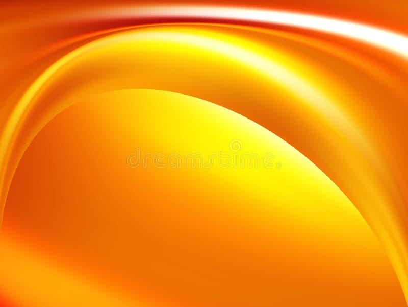 желтый цвет иллюстрации померанцовый иллюстрация вектора