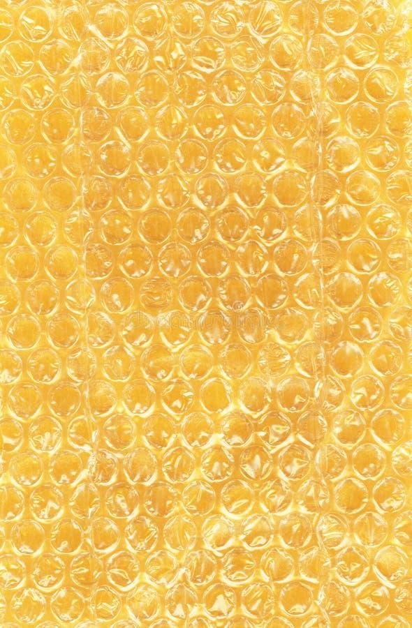 желтый цвет обруча бумаги пузыря стоковое фото