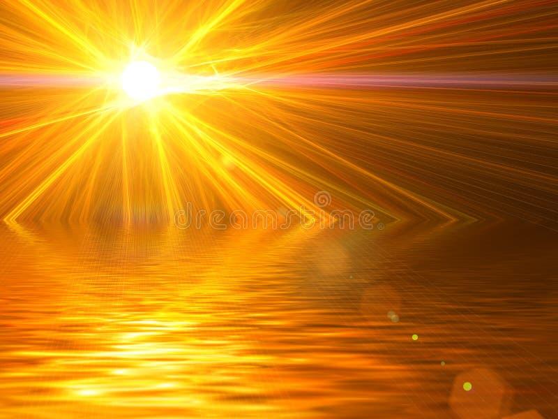 желтый цвет палитры абстрактной предпосылки померанцовый бесплатная иллюстрация