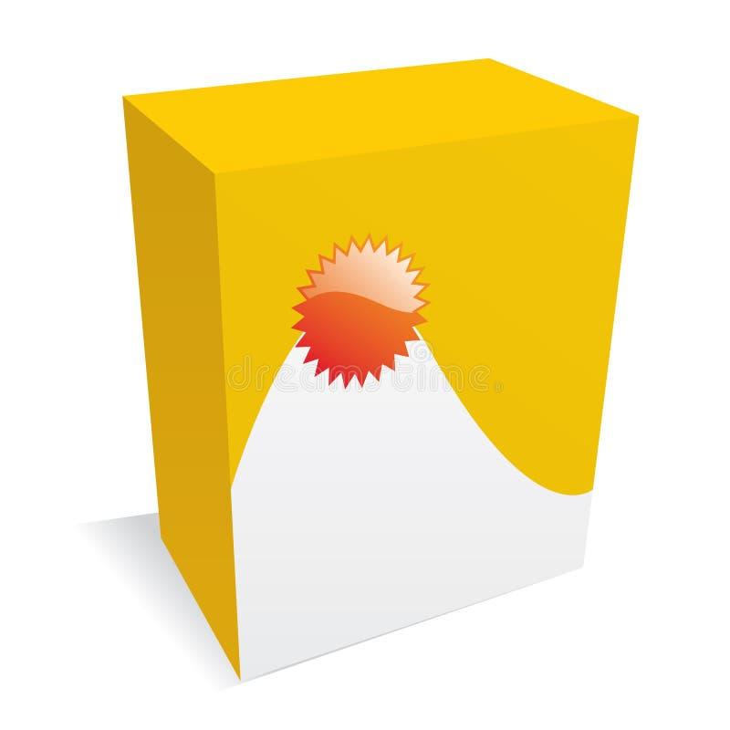 Download желтый цвет ПО коробки иллюстрация штока. иллюстрации насчитывающей съемка - 6857400