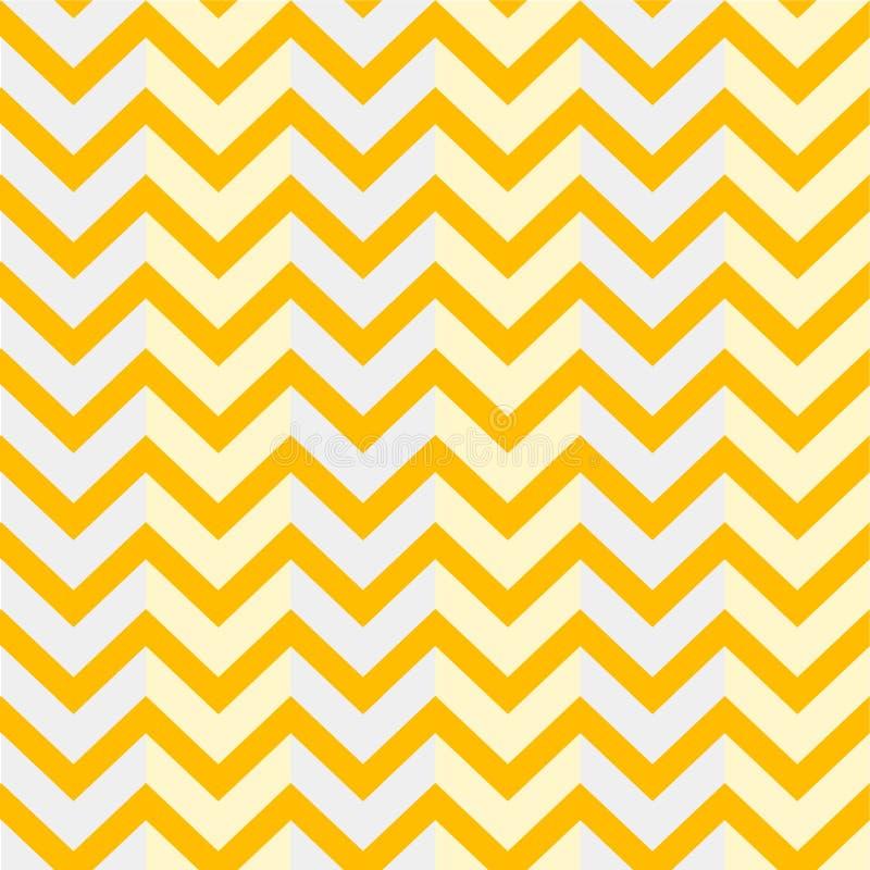 Желтый цвет предпосылки зигзага картины иллюстрации стоковая фотография rf