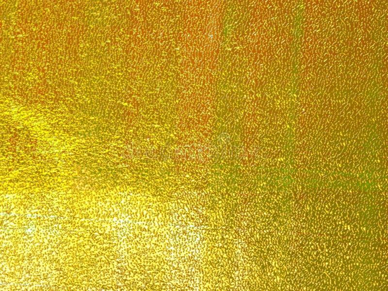 желтый цвет предпосылки светя иллюстрация вектора