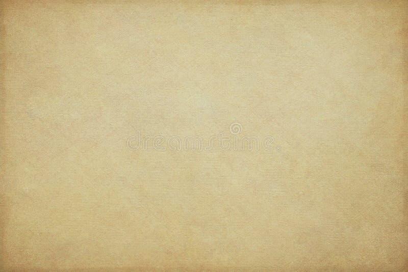 желтый цвет предпосылки старый бумажный стоковое изображение