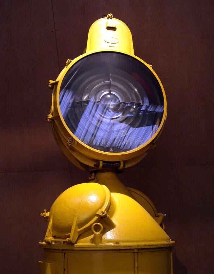 желтый цвет фонарика стоковое изображение rf