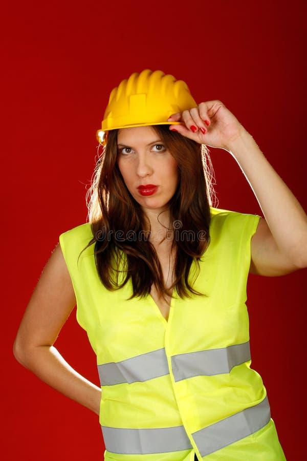 желтый цвет шлема стоковые фото
