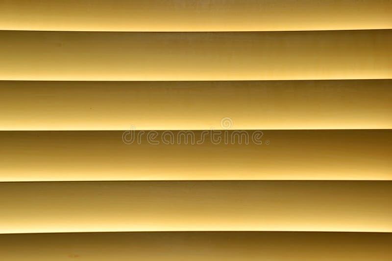 желтый цвет шторок стоковая фотография rf