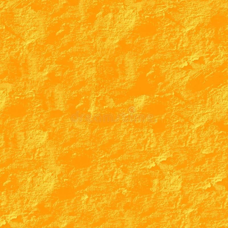 желтый цвет штукатурки предпосылки безшовный иллюстрация вектора