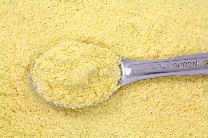 желтый цвет tablespoon камня еды мозоли земной стоковое изображение