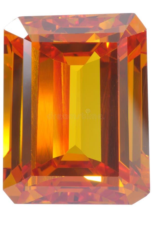 желтый цвет topaz стоковые изображения